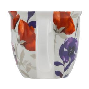 Cambridge CM057161 Oxford Red Poppy Fine China Mug, Set of Two Thumbnail 2