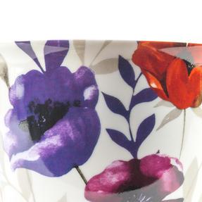Cambridge CM057161 Oxford Red Poppy Fine China Mug, Set of Eight Thumbnail 3
