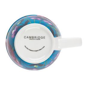 Cambridge CM057171 Oxford Teal Poppy Fine China Mug, Set of Eight Thumbnail 5