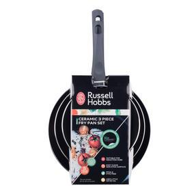 Russell Hobbs COMBO-2103 Ceramic Non Stick Saucepan and Frying Pan Set, 6 Piece Thumbnail 10