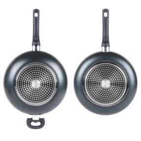 Russell Hobbs COMBO-2104 Ceramic Non Stick 28 CM Sauté and Frying Pan Set, 2 Piece, Grey Thumbnail 6