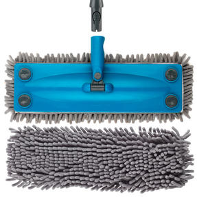 Beldray COMBO-3161 Click and Connect Set with Microfibre / Chenille Mops and Turquoise 14L Bucket Thumbnail 9