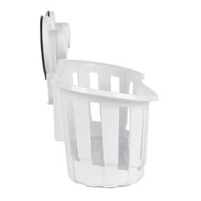 Beldray COMBO-2283 Set of 2 Plastic Suction Bathroom Shower Baskets, White Thumbnail 7