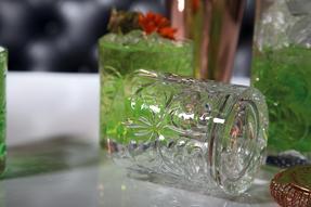 RCR COMBO-2224 Tattoo Crystal Cocktail Mixing Glass and Short Tumbler Glass Set, 7 Piece Thumbnail 5
