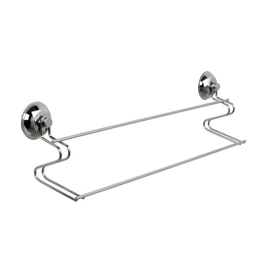 Beldray Bathroom Suction Shower Basket, Towel Ring and Towel Bar Thumbnail 4