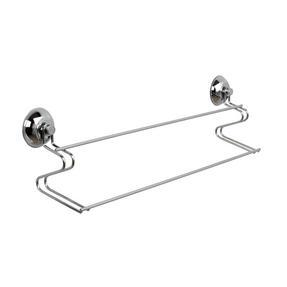Beldray COMBO-1682 Bathroom Suction Shower Basket, Towel Ring and Towel Bar Thumbnail 4