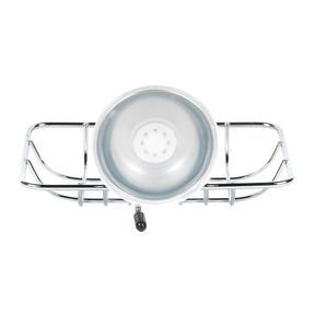 Beldray COMBO-1701 4-Piece Bathroom Suction Set, Soap Dish, Towel Ring, Toilet Roll Holder & 2 Tier Corner Shower Basket, Chrome Thumbnail 7