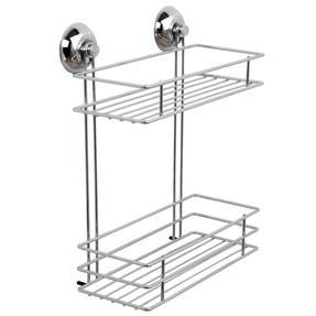 Beldray COMBO-3219 Suction Shower Baskets with Soap Dish, Chrome Thumbnail 2