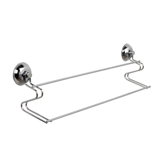 Beldray Bathroom Suction Towel Bar, Soap Dish, Shower Basket and Toilet Roll Holder Thumbnail 3