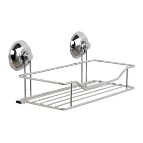 Beldray COMBO-3220 Bathroom Suction Towel Bar, Soap Dish, Shower Basket and Toilet Roll Holder Thumbnail 2