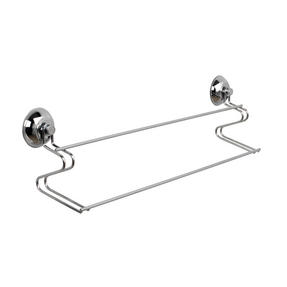 Beldray COMBO-3223 Bathroom Suction Baskets, Soap Dish, Holders and Towel Ring Collection, Chrome Thumbnail 3