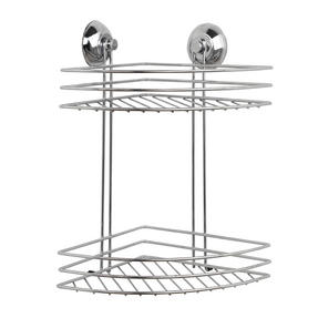 Beldray COMBO-3223 Bathroom Suction Baskets, Soap Dish, Holders and Towel Ring Collection, Chrome Thumbnail 5