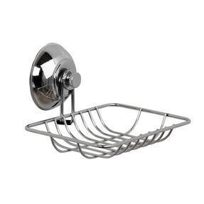 Beldray COMBO-3223 Bathroom Suction Baskets, Soap Dish, Holders and Towel Ring Collection, Chrome Thumbnail 6