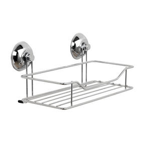 Beldray COMBO-3223 Bathroom Suction Baskets, Soap Dish, Holders and Towel Ring Collection, Chrome Thumbnail 7