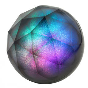 Intempo Glitter Ball Bluetooth Speaker with Colourful LED Lights, 5 W