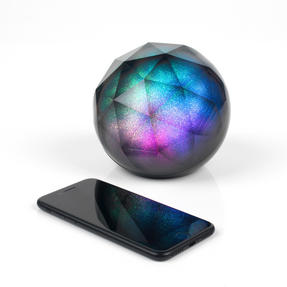 Intempo EE3434GSTKEU Geometric Glitter Ball Bluetooth Speaker with Colourful LED Lights for iPhones, Androids and Other Smart Devices, Superior Sound, 5 W Speaker Output Thumbnail 4