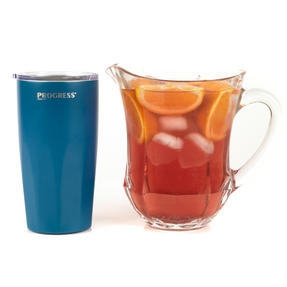 Progress COMBO-3204 Blue Thermal Insulated Travel Cup Tumbler with Lid, 550 ml, Set of 2 Thumbnail 9