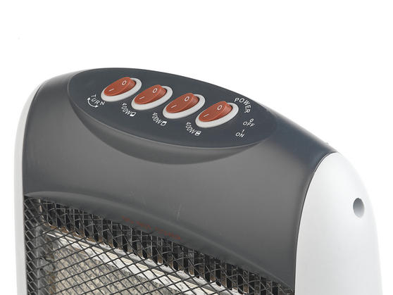 Beldray Portable Halogen Heater, 1200 W, Grey Main Image 5