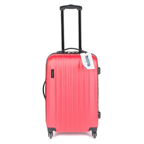 "Constellation LG00404MPINKSDMIL Eclipse 4 Wheel Suitcase, 24"", Pink Thumbnail 2"