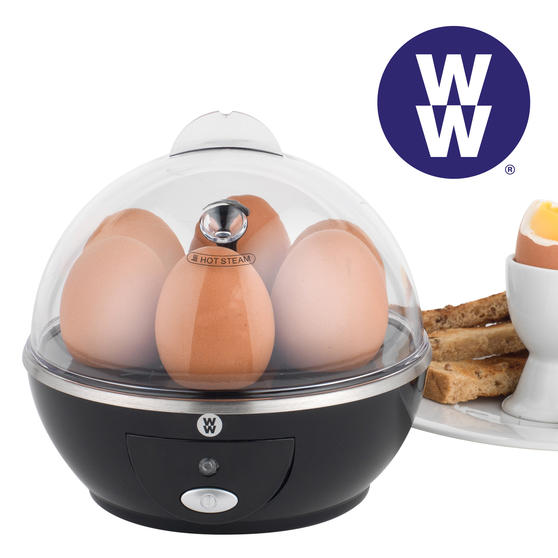 Weight Watchers EK3008WW Electric Boiled Poached Egg Cooker, 360 W