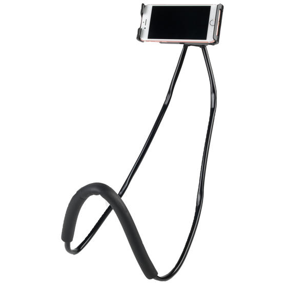 Intempo EE4090BLKSTKEU Flexible Around Neck Phone Holder Mount