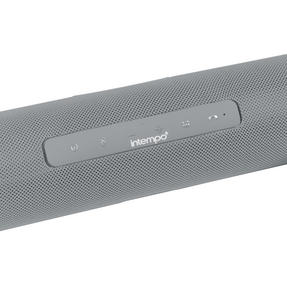 Intempo EE2679GRYSTKEU Bluetooth Party Speaker with Enhanced Bass, Grey, 10 W Thumbnail 2