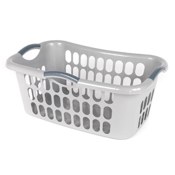 Beldray LA038357GRYEU Hip Hugger Laundry Basket, Grey