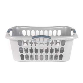 Beldray LA038357GRYEU Hip Hugger Laundry Basket, Grey Thumbnail 2