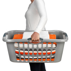 Beldray LA038357GRYEU Hip Hugger Laundry Basket, Grey Thumbnail 3