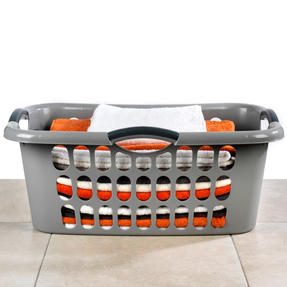 Beldray LA038357GRYEU Hip Hugger Laundry Basket, Grey Thumbnail 4