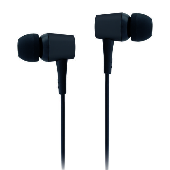 Intempo EE2927BLKSTKEU Bluetooth WDS11 Earphones, Black