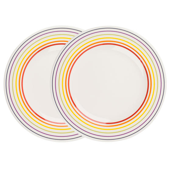 Bugatti 1109601 Two Large Dinner Plates, 27 cm