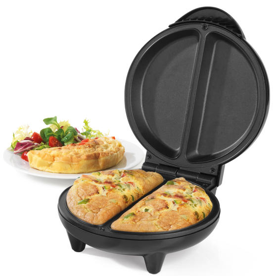 Weight Watchers EK3092WW Omelette Maker Dual Non-Stick Cooking Plates, 750 W