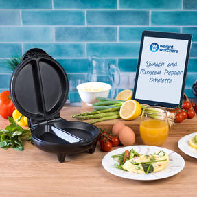 Weight Watchers EK3092WW Omelette Maker Dual Non-Stick Cooking Plates, 750 W Thumbnail 3