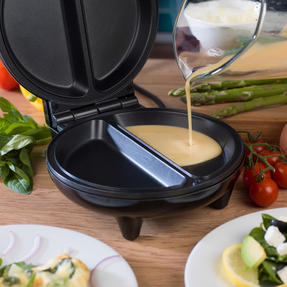 Weight Watchers EK3092WW Omelette Maker Dual Non-Stick Cooking Plates, 750 W Thumbnail 5