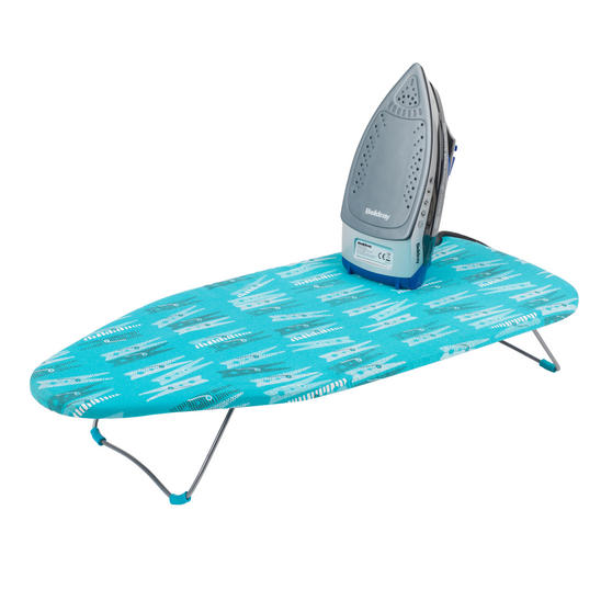 Beldray Max Steam Pro 3000 W Iron with Table Top Peg Print Ironing Board Thumbnail 1