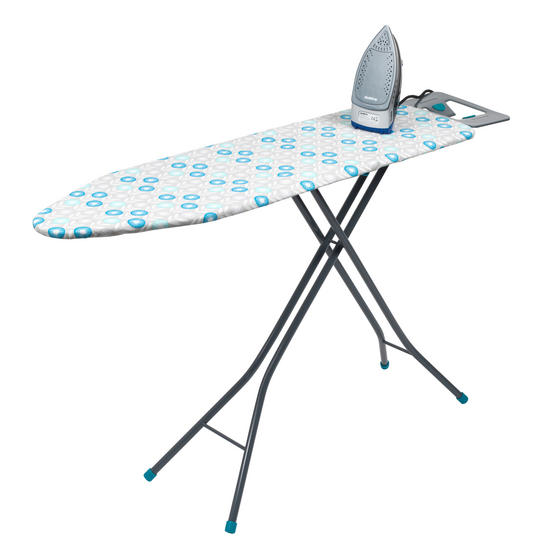 Beldray Max Steam Pro 3000 W Iron with Retro Floral Print Ironing Board