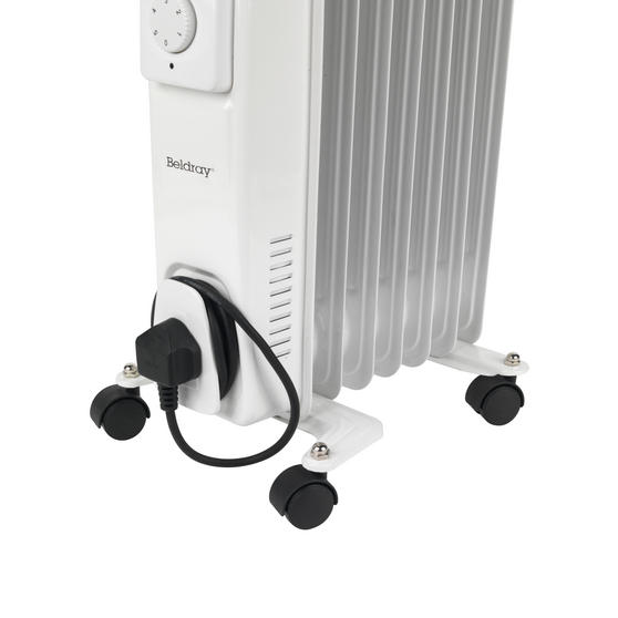 Beldray 7 Fin Oil Radiator, 3 Heat Settings, 1500 W Thumbnail 4