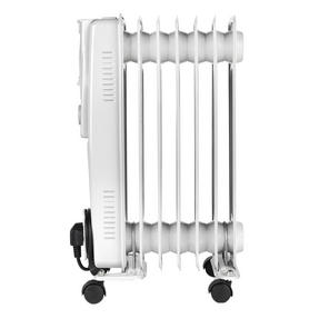 Beldray EH0564SSTK 7 Fin Oil Radiator, 3 Heat Settings, 1500 W Thumbnail 3