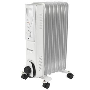 Beldray EH0564SSTK 7 Fin Oil Radiator, 3 Heat Settings, 1500 W Thumbnail 3