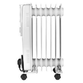 Beldray EH0564SSTK 7 Fin Oil Radiator, 3 Heat Settings, 1500 W Thumbnail 5