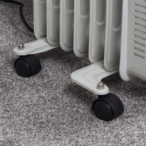 Beldray EH0564SSTK 7 Fin Oil Radiator, 3 Heat Settings, 1500 W Thumbnail 6