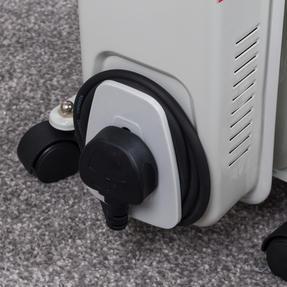 Beldray EH0564SSTK 7 Fin Oil Radiator, 3 Heat Settings, 1500 W Thumbnail 8