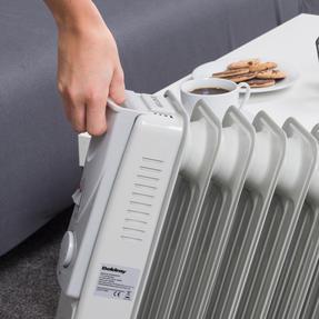 Beldray EH0564SSTK 7 Fin Oil Radiator, 3 Heat Settings, 1500 W Thumbnail 9