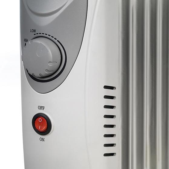 Beldray EH1768SSTK Mini Oil Filled Electric Radiator, 650 W Thumbnail 3