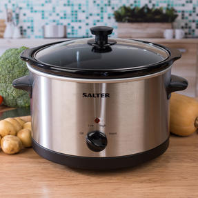 Salter Non-Stick Slow Cooker with 3 Heat Settings, 5.5 Litre Thumbnail 2