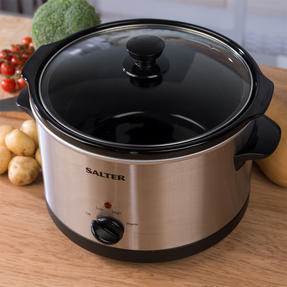 Salter Non-Stick Slow Cooker with 3 Heat Settings, 5.5 Litre Thumbnail 3