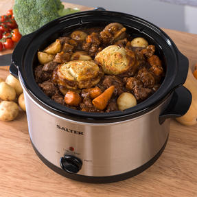 Salter Non-Stick Slow Cooker with 3 Heat Settings, 5.5 Litre Thumbnail 7