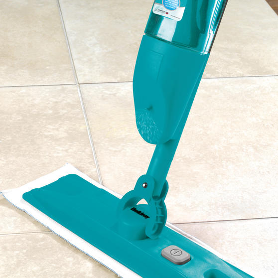 Beldray Turbo Sonic Deep Cleaning Vibrating Spray Mop, Turquoise Thumbnail 3