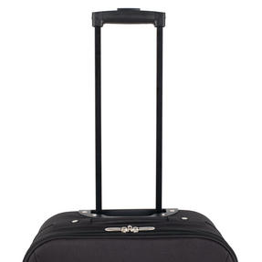 Constellation LG00439SBLKASMIL Eva Cabin Sized Suitcase, 18?, Black Thumbnail 3
